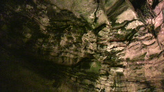 Cave interior at Howe Caverns in upstate NY #10 Stock Footage