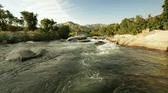 River_rapids01 Stock Footage