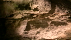 Cave interior at Howe Caverns in upstate NY #8 Stock Footage
