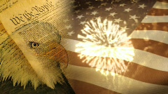 4th July Background 2 - stock footage