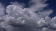 Summer Sky Clouds 2 Loop Stock Footage