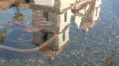Santa Barbara Mission/fountain #3 HD Stock Footage
