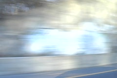 Highway Scenery Passing Stock Footage