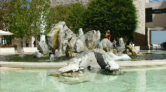 Grand Fountain Stock Footage