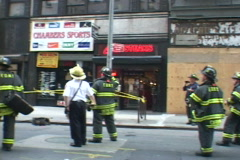 NYC Fire Department 1 Rescue Stock Footage