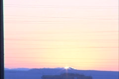 Urban Sunrise Stock Footage