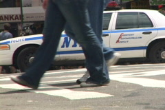 NYPD 5 Time Lapse Stock Footage