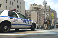 NYPD 3 Real Time Stock Footage