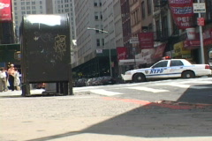 NYPD 9 Traffic Control Stock Footage