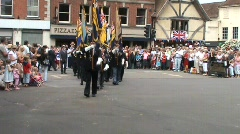 AFD Parade 1 veterans Stock Footage