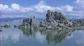 Mono Lake 03 Tufa Towers A LS Loop / Sierra Nevada Mts, California, USA HD Footage