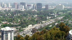 Los Angeles Traffic - stock footage