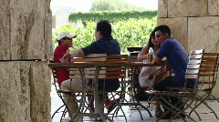 Family Having Lunch Stock Footage