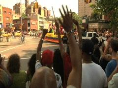 Gay Pride Parade, New York City 1 Stock Footage