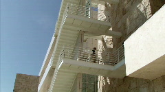 Architecture of the Getty Center Stock Footage