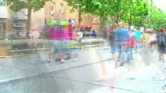 Peoplewalking Stock Footage