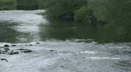 River Tees at Piercebridge Stock Footage