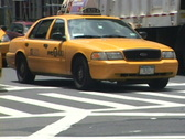 Stock Video Footage of NYC Taxi 2 of 3