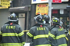 Stock Video Footage of NYC Fire Department 5 Firefighter Series