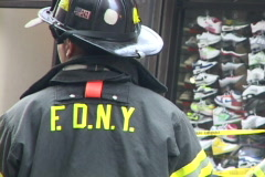 NYC Fire Department 10 Explosion Effect Stock Footage