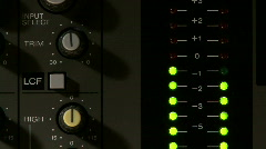 Audio VU Meter 02 - stock footage