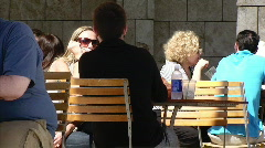 Eating Lunch Stock Footage