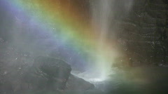 Iguazu - Rainbow Stock Footage