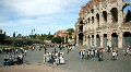 The Coliseum, Rome Footage