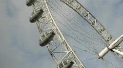 London Eye, London - stock footage