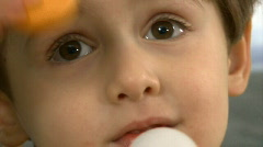 child expression - stock footage