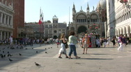 Stock Video Footage of Saint Mark Square, Venice