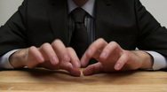 Impatient businessman - HD  Stock Footage