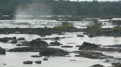 Iguacu / Iguazu Falls in Brazil 13 Stock Footage