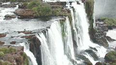 Iguacu / Iguazu Falls in Brazil 10 Stock Footage