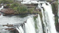 Iguacu / Iguazu Falls in Brazil 9 Stock Footage
