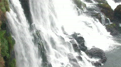 Iguacu / Iguazu Falls in Brazil 8 Stock Footage
