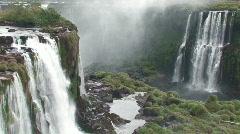 Iguacu / Iguazu Falls in Brazil 6 Stock Footage