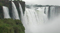 Iguacu / Iguazu Falls in Brazil 1 - stock footage