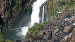 Iguacu / Iguazu Falls in Argentina 5 Stock Footage