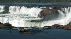 Iguacu / Iguazu Falls in Argentina 1 Stock Footage