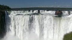 Iguacu / Iguazu Falls in Argentina 2 Stock Footage