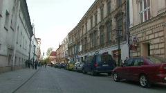 Krakow view 2 Stock Footage