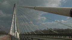 Swietokrzyski Bridge in Warsaw - timelapse Stock Footage