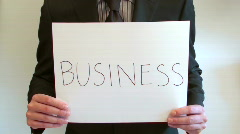 Business terms - HD  Stock Footage