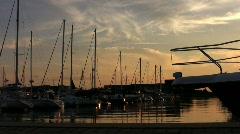 Boats Medium Angle 1 Stock Footage
