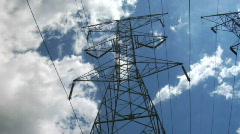 Powerlines 5 Stock Footage