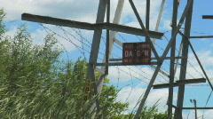 Powerlines 2 Stock Footage