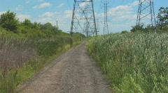 Powerlines 1 Stock Footage