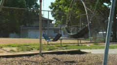 Swings 2 Stock Footage