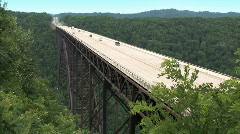 New River Gorge Bridge 732 Stock Footage